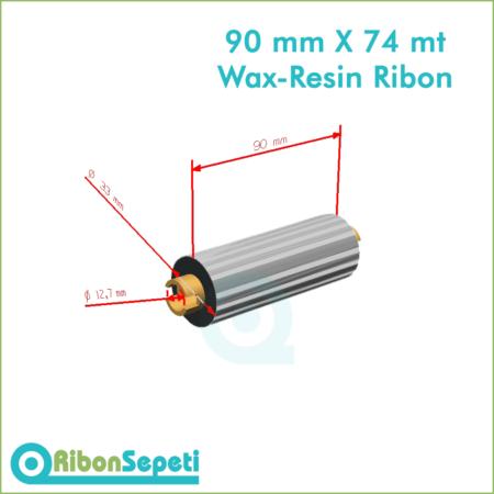 90 mm X 74 mt Wax-Resin Ribon Fiyatı (Online Satın Al)