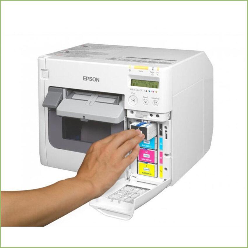 Epson Colorworks Tm-C3500 Color Label Printer