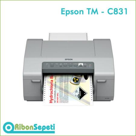 Epson Colorworks TM C831 Renkli Etiket Yazıcı
