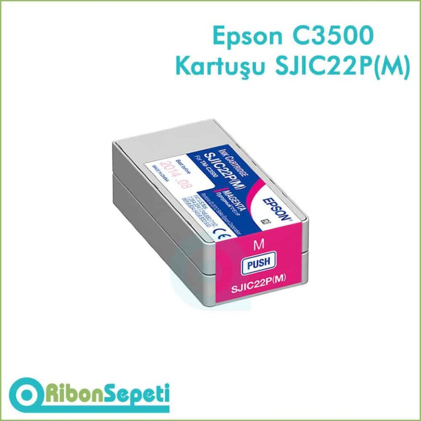 Epson Tm-C3500 SJIC22P Magenta Fiyat