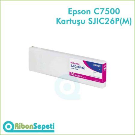 Epson Colorworks TM-C7500 SJIC26P(M) (Magenta Kartuş) Fiyatı