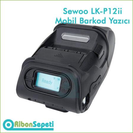 Sewoo LK-P12ii Mobil Barkod Yazıcı