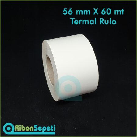 56 mm X 60 mt Termal Rulo Fiyatı