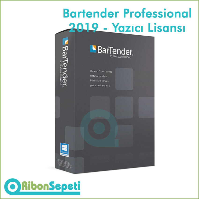 Bartender Professional 2019 - Yazıcı Lisansı