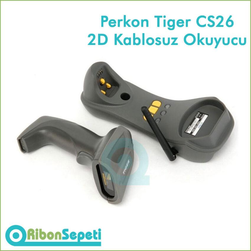 Perkon Tiger CS26 2D Kablosuz Barkod Okuyucu