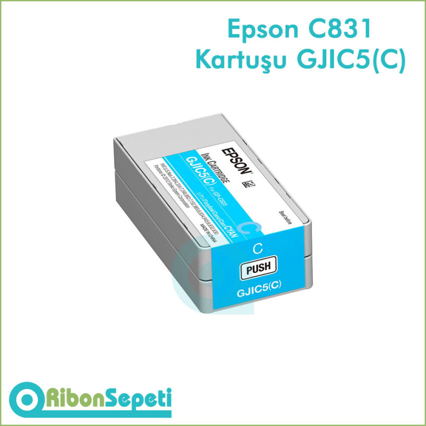 GJIC5(C) - Epson C831 Kartuşu GJIC5 Cyan - Fiyat