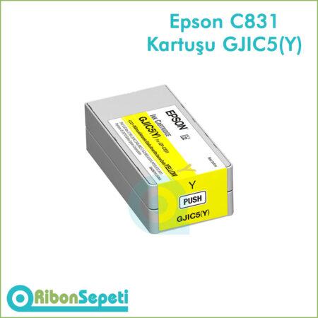GJIC5(Y) - Epson C831 Kartuşu GJIC5 Yellow - Fiyat